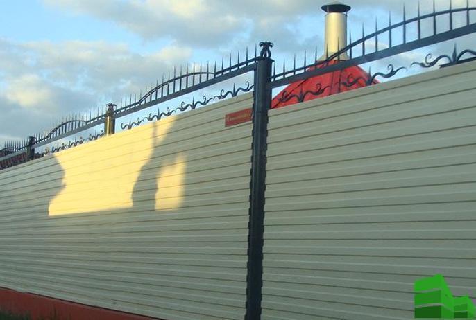 расчет профнастила на забор