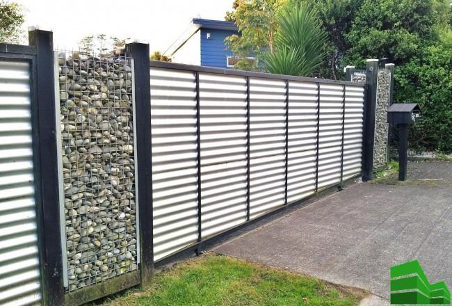 рассчитать сколько нужно профлиста на забор