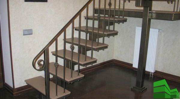 металлические перила на лестницу