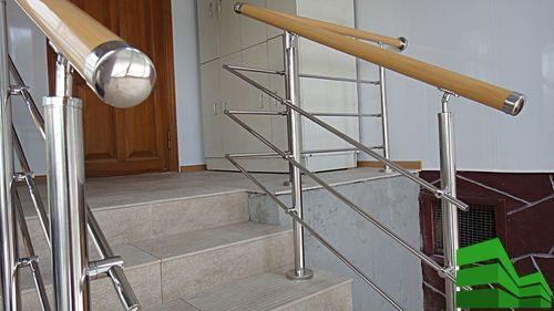 перила поручни и ограждения для лестниц металлические
