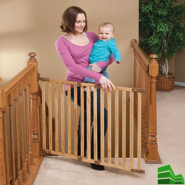защита на лестницу от детей своими руками