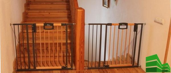 ворота на лестнице
