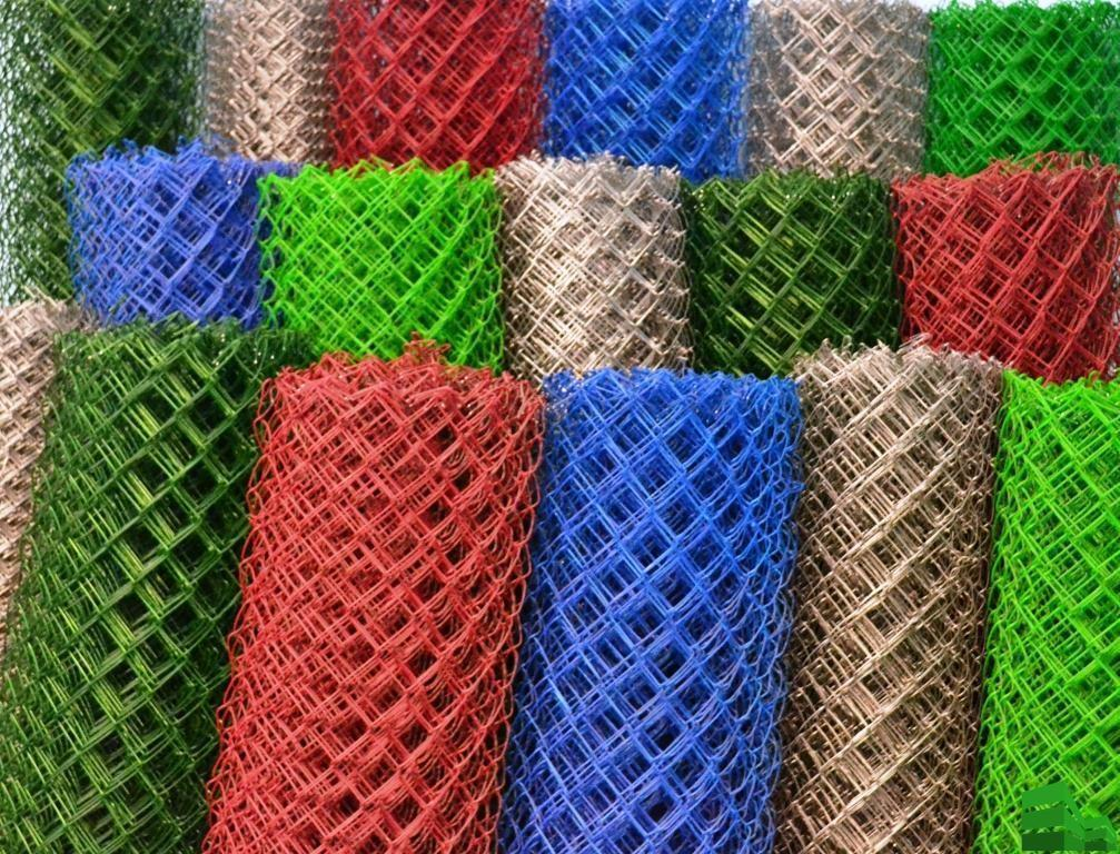 сетка рабица пластифицированная