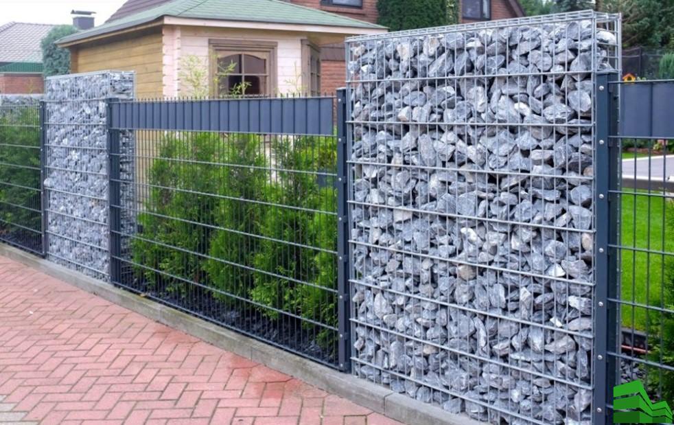 Забор из коробов